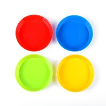 4 piezas paleta de pintura plastica