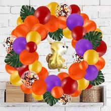 80 piezas set globo decorativo de dia de Gracias