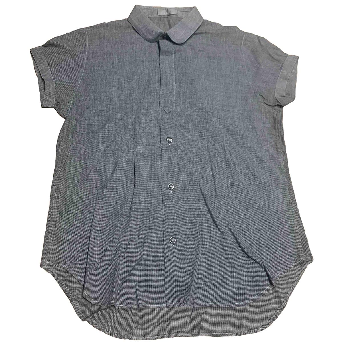Dior Homme \N Hemden in  Grau Baumwolle