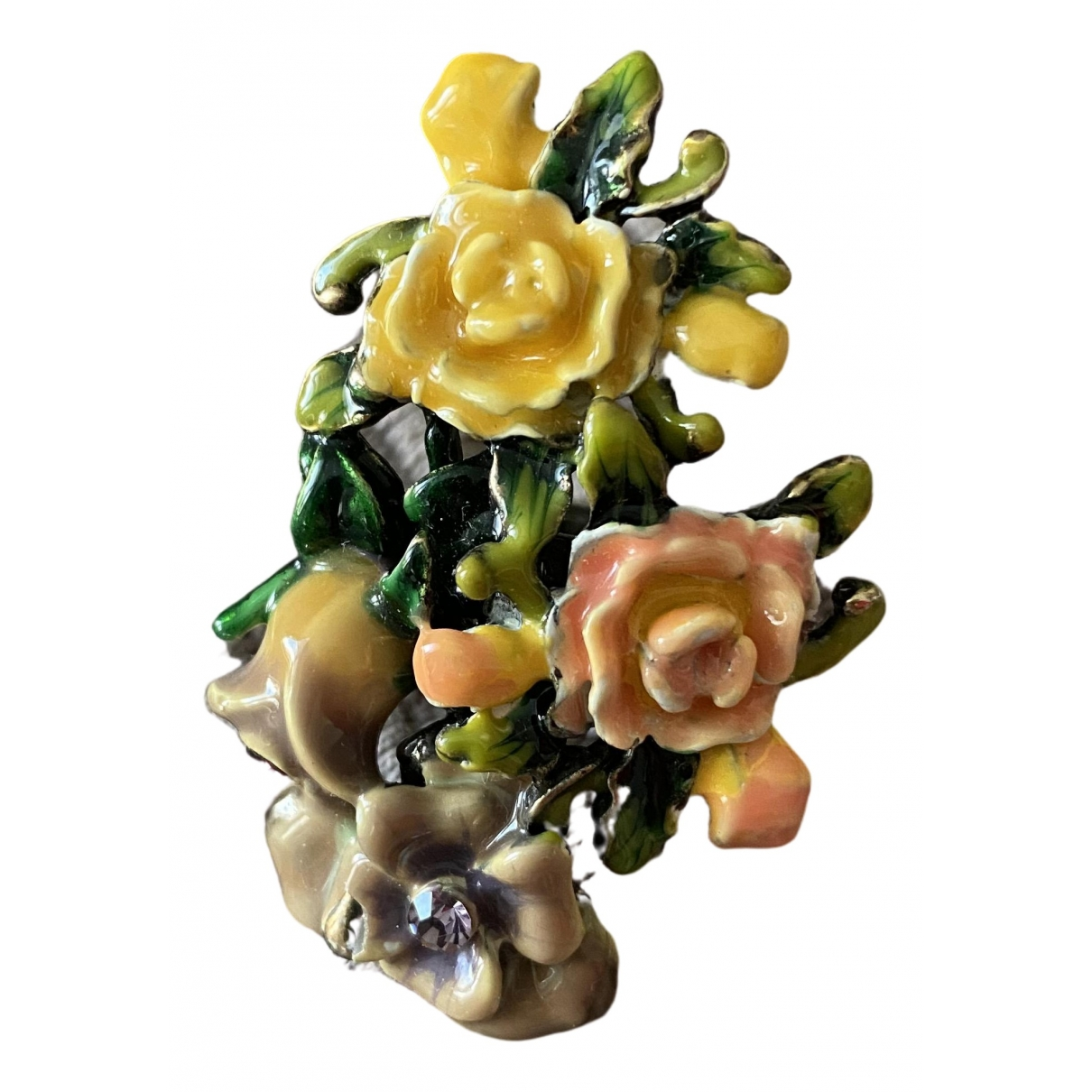 Uterque - Bague   pour femme en metal - multicolore