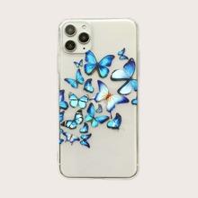 iPhone Huelle mit Schmetterling Muster