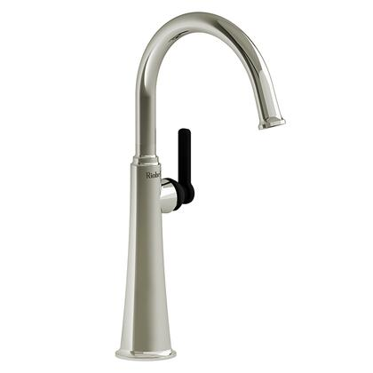 Momenti MMRDL01JPNBK-10 Single Hole Lavatory Faucet with J Lever Handle 1.0 GPM  in Polished