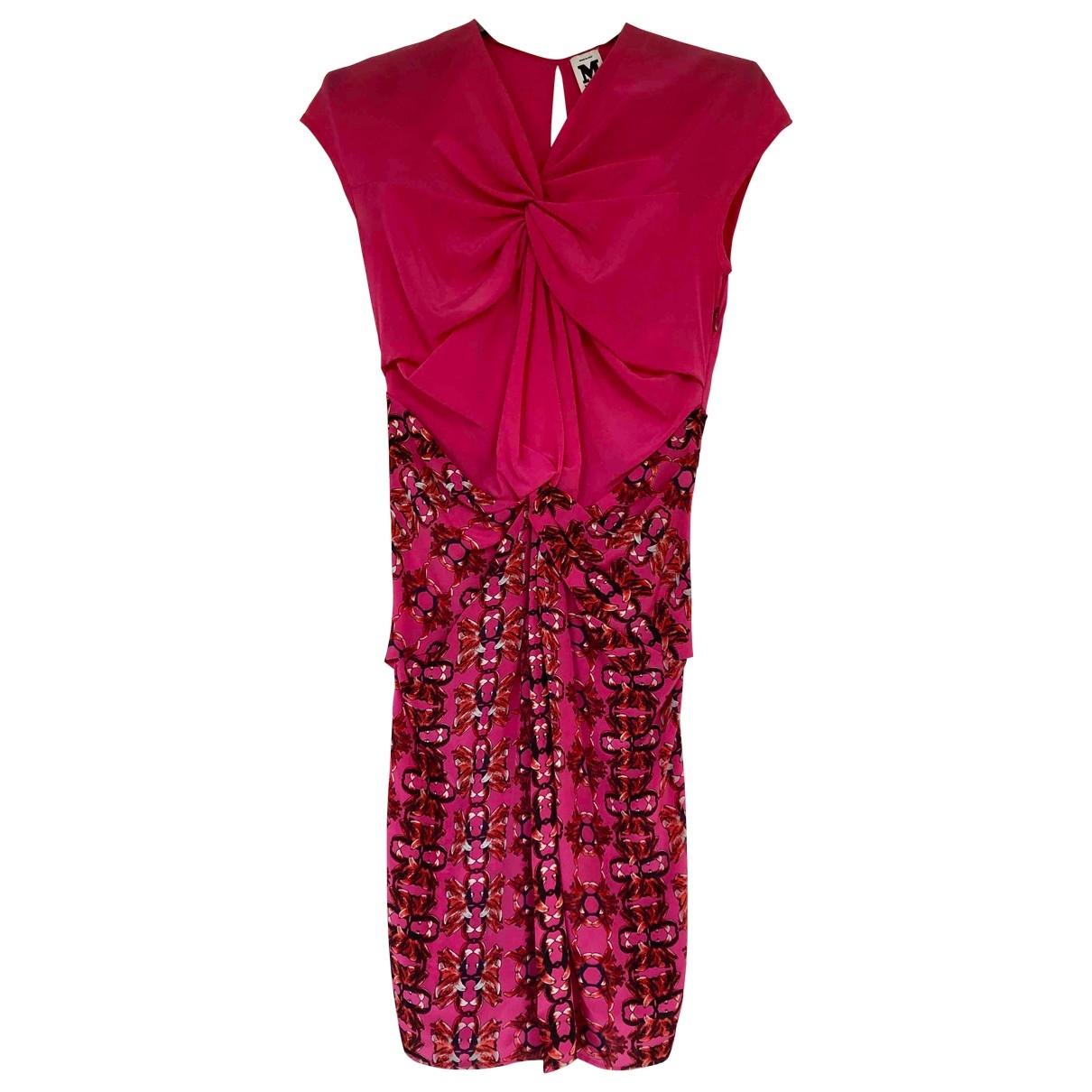M Missoni \N Kleid in  Rosa Seide