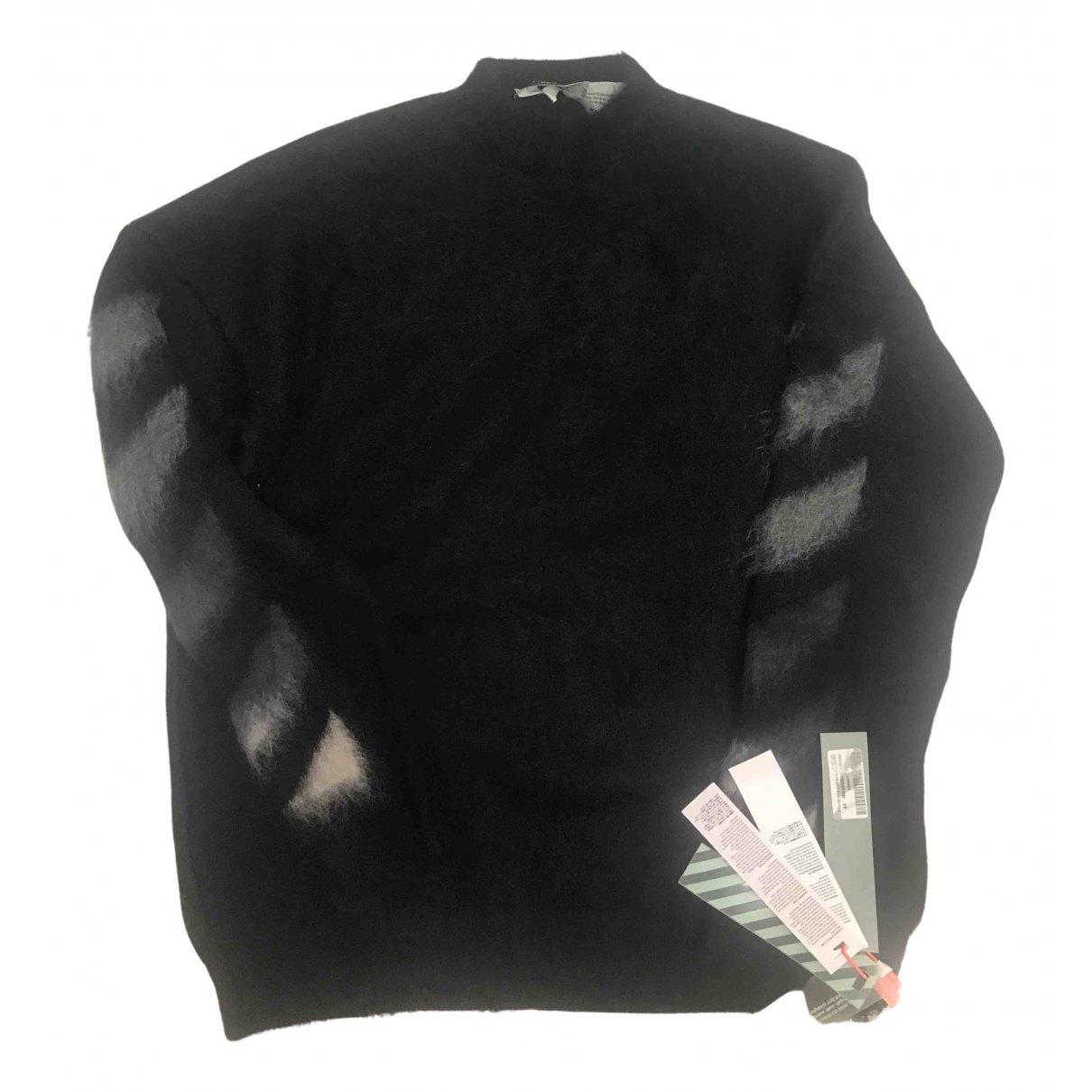 Off-white \N Pullover in  Schwarz Wolle