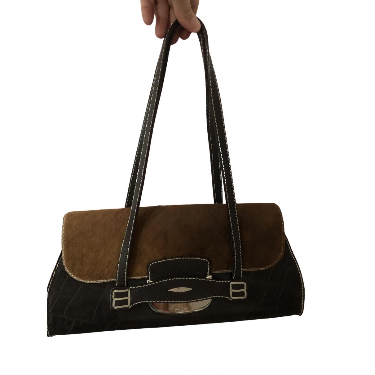Tod's \N Beige Leather handbag for Women \N