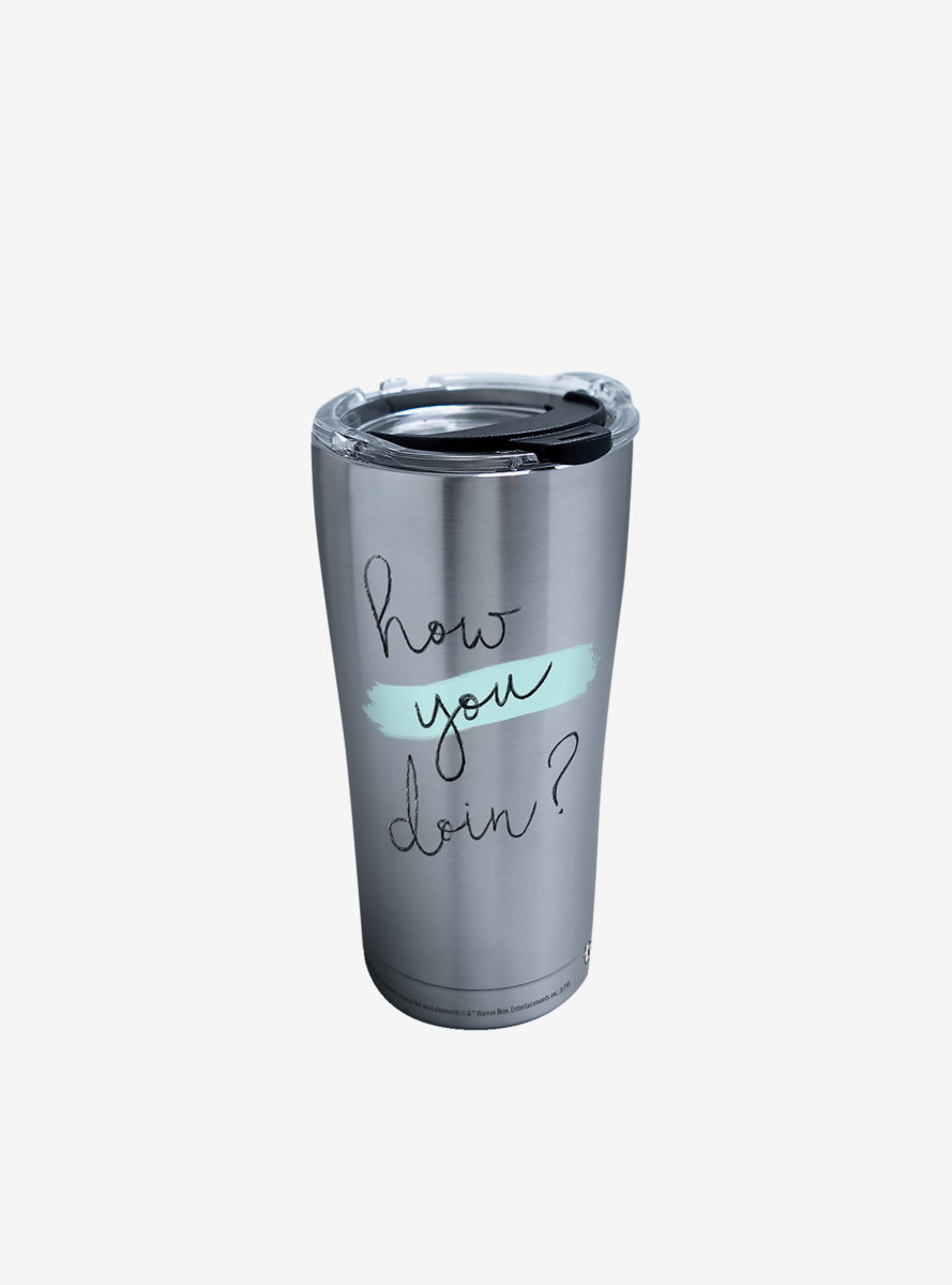 Friends How You Doin 20oz Stainless Steel Tumbler With Lid