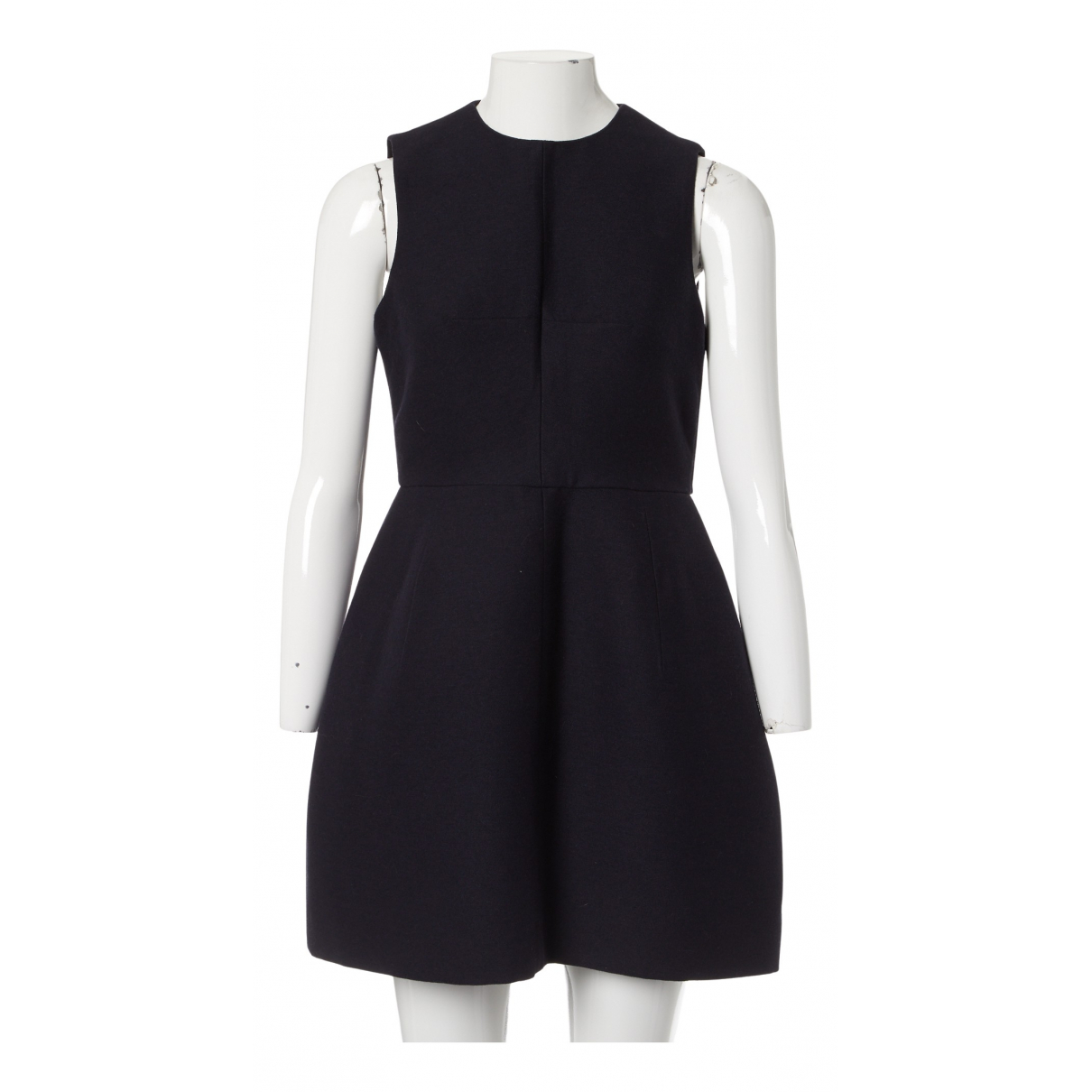 Carven \N Kleid in  Marine Synthetik