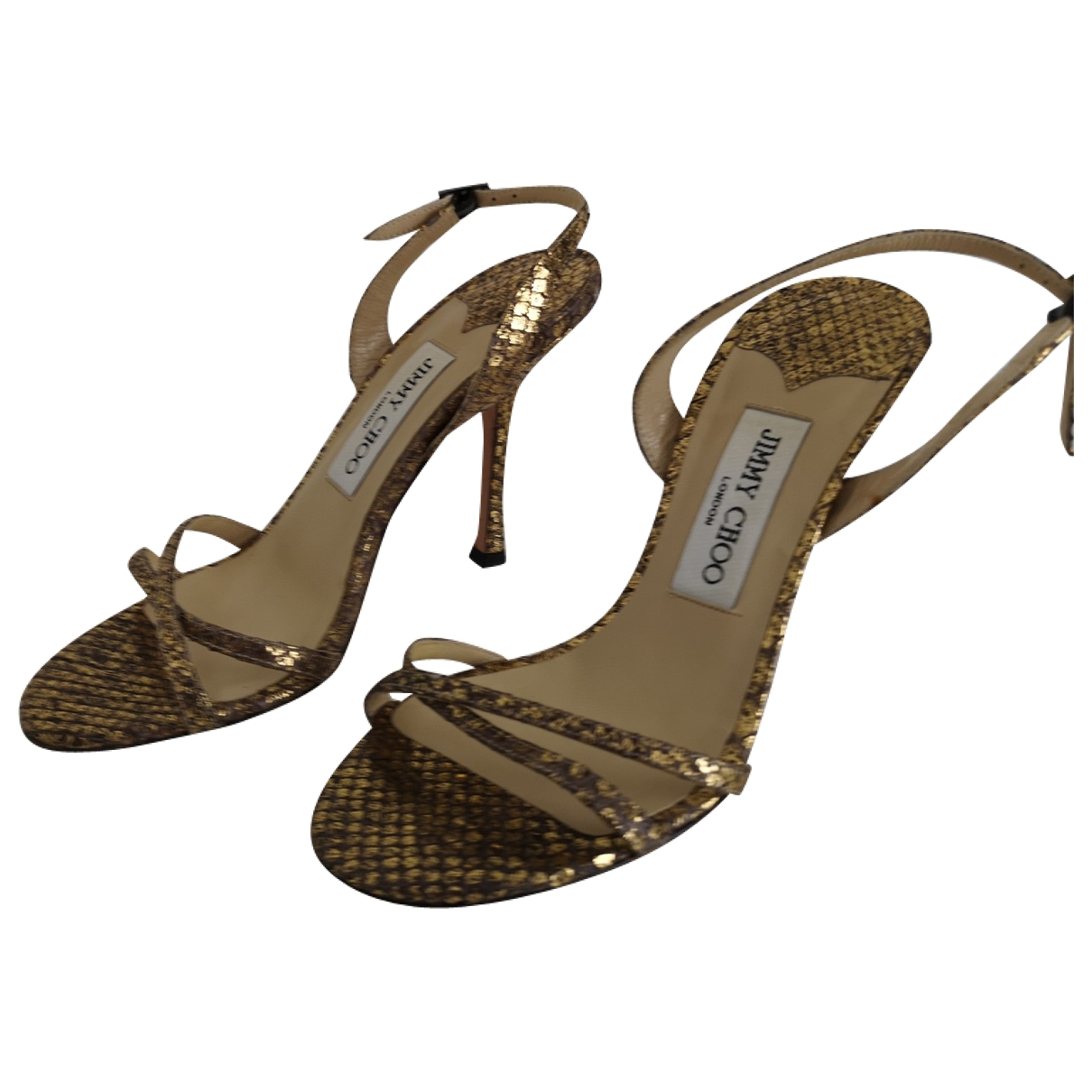 Sandalias de Piton Jimmy Choo