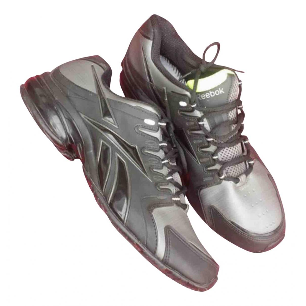 Reebok \N Sneakers in  Grau Kunststoff
