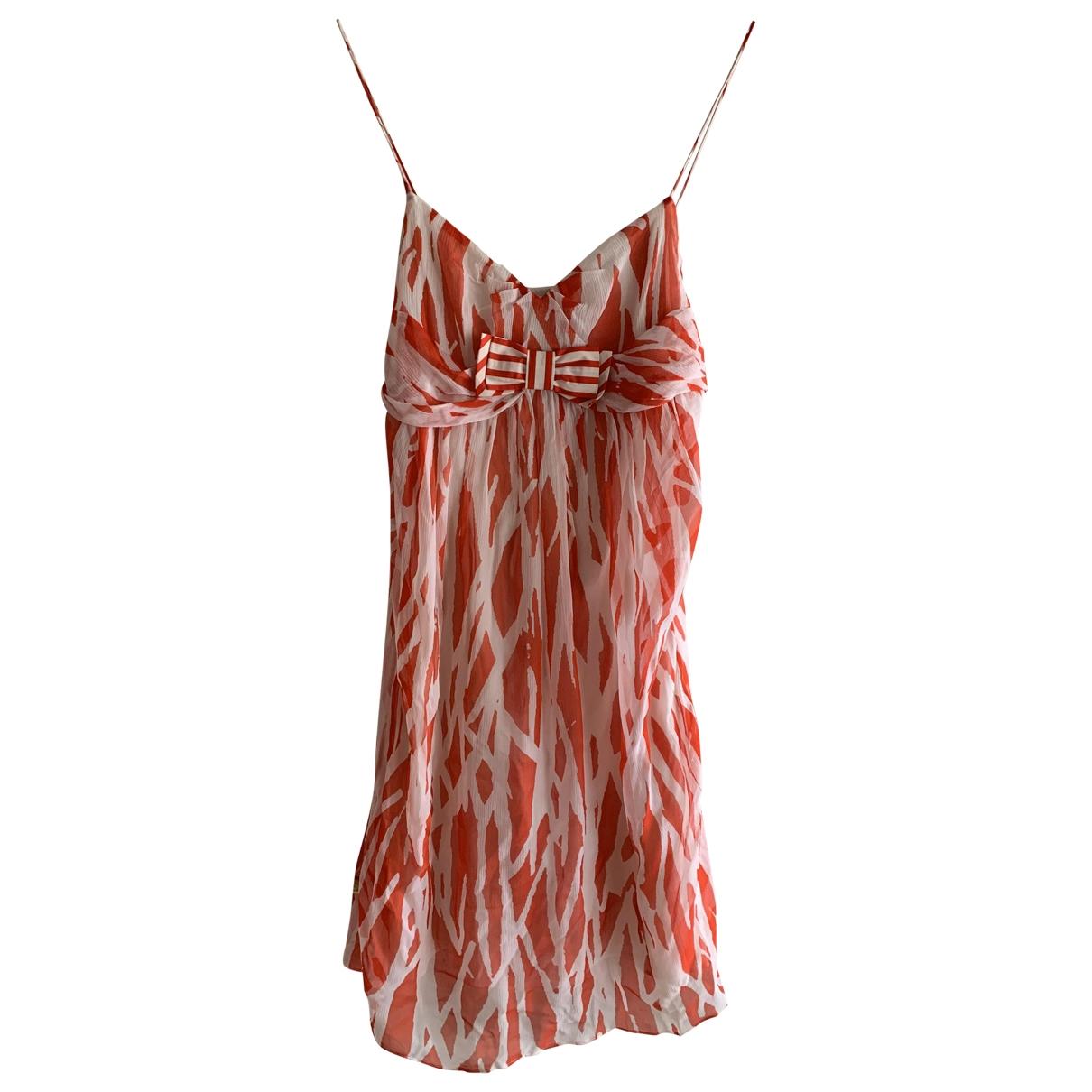 Diane Von Furstenberg \N Red Silk dress for Women 4 US