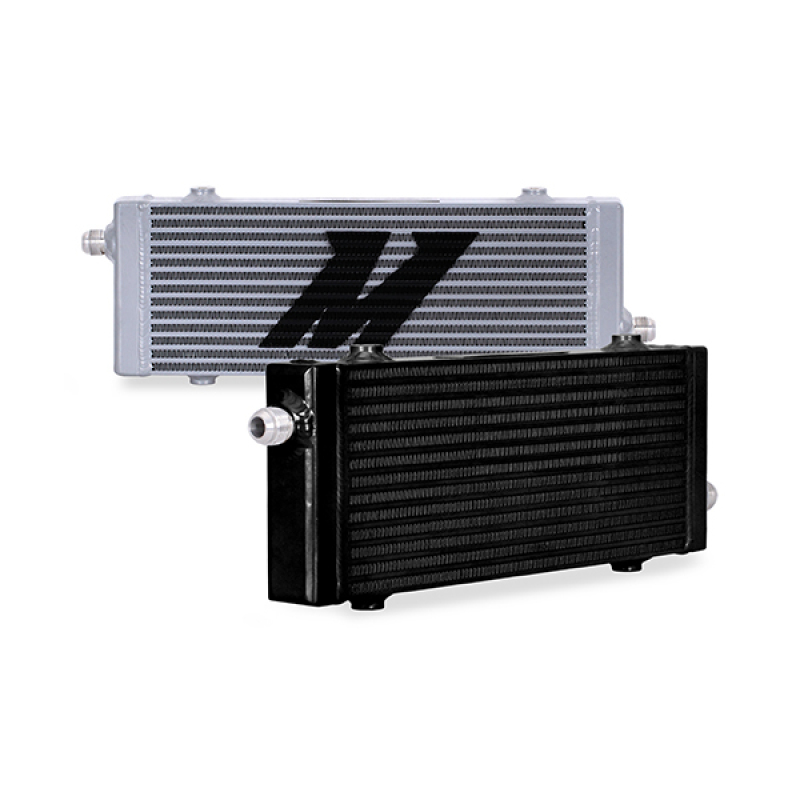 Mishimoto MMOC-SP-MSL Universal Medium Bar and Plate Cross Flow Silver Oil Cooler