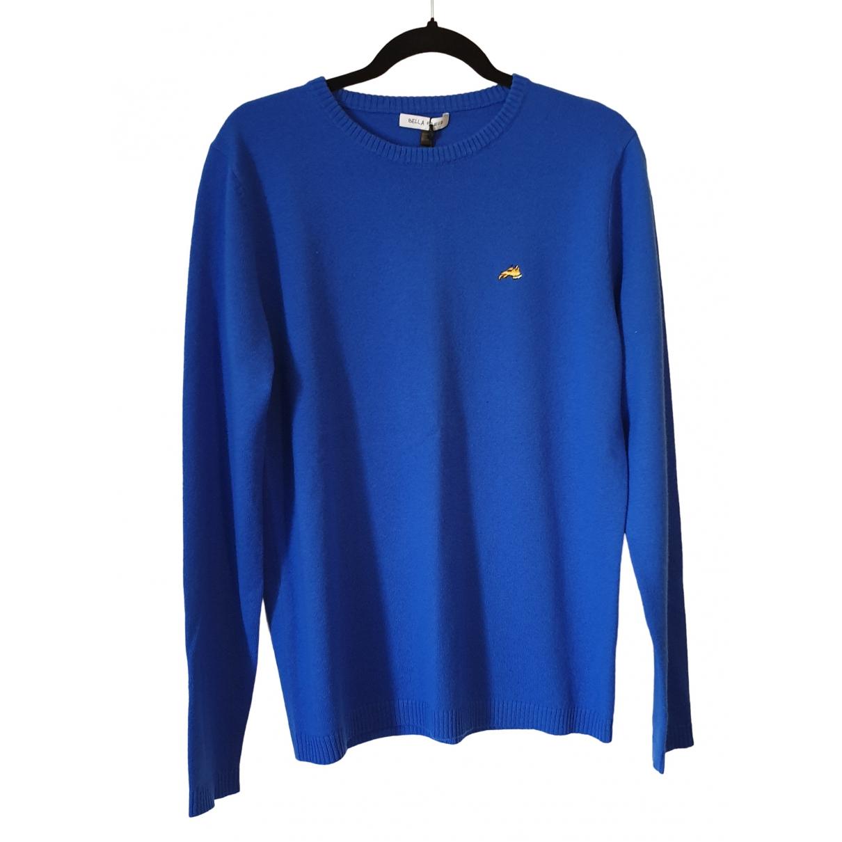 Bella Freud \N Pullover.Westen.Sweatshirts  in  Blau Kaschmir