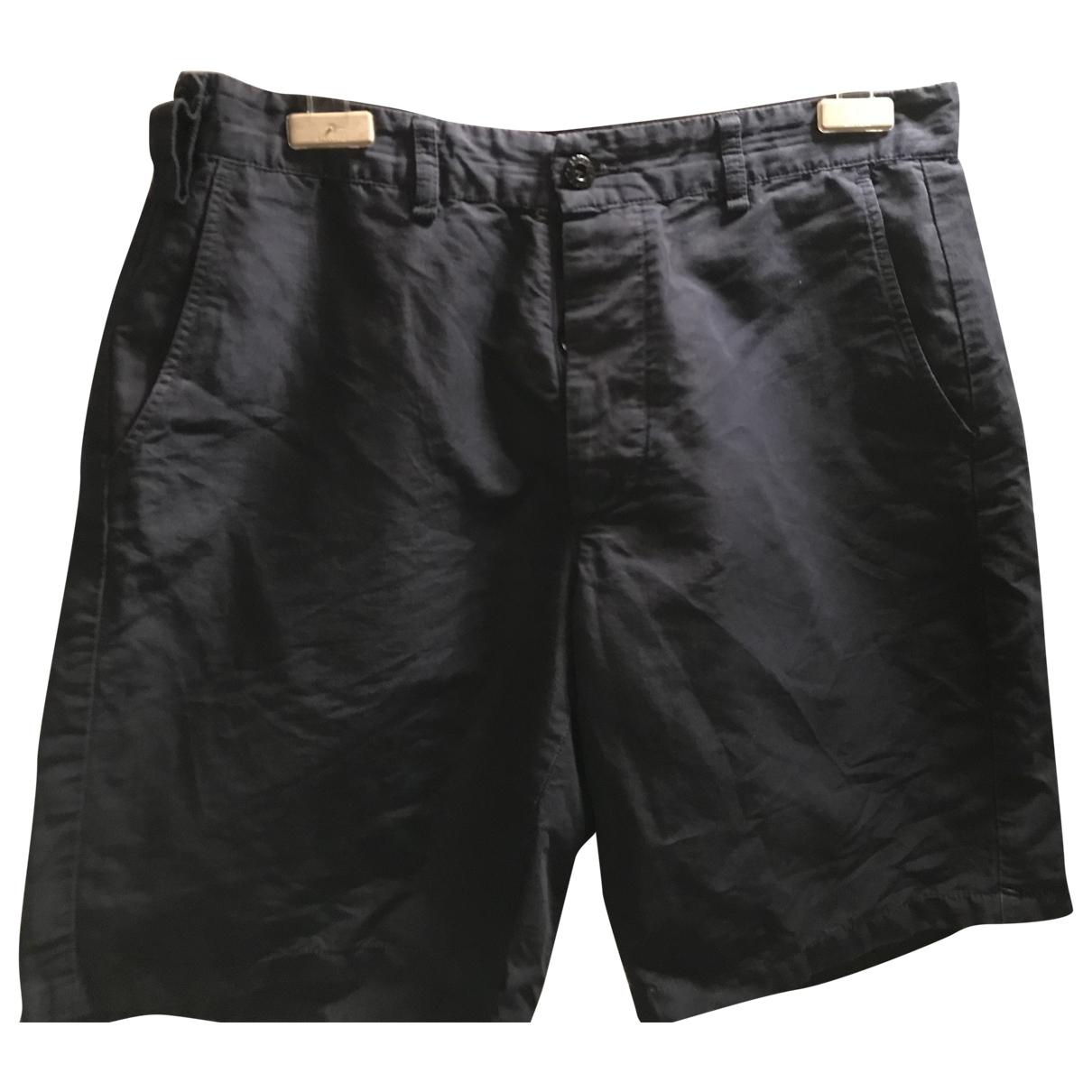 Stone Island \N Shorts in  Blau Baumwolle