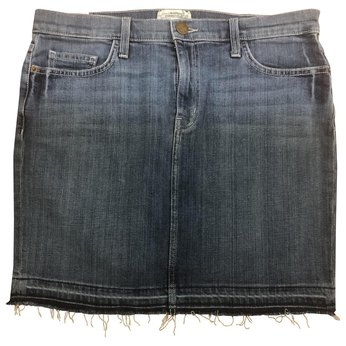 Current Elliott \N Rocke in  Blau Denim - Jeans