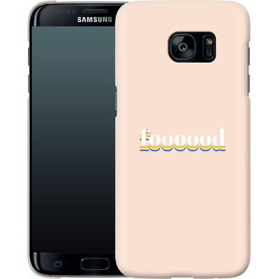 Samsung Galaxy S7 Edge Smartphone Huelle - #foooood von #basicbitches