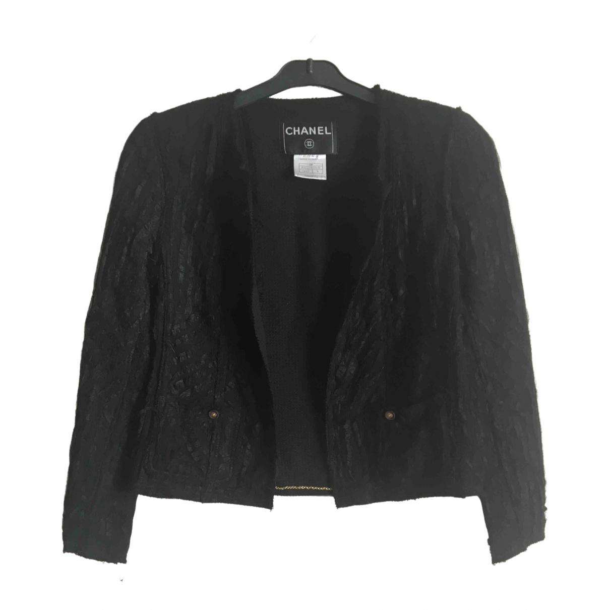 Chanel \N Black Silk jacket for Women 36 FR