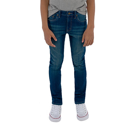 Levis Big Boys 510 Stretch Skinny Fit Jean, 10 , Blue