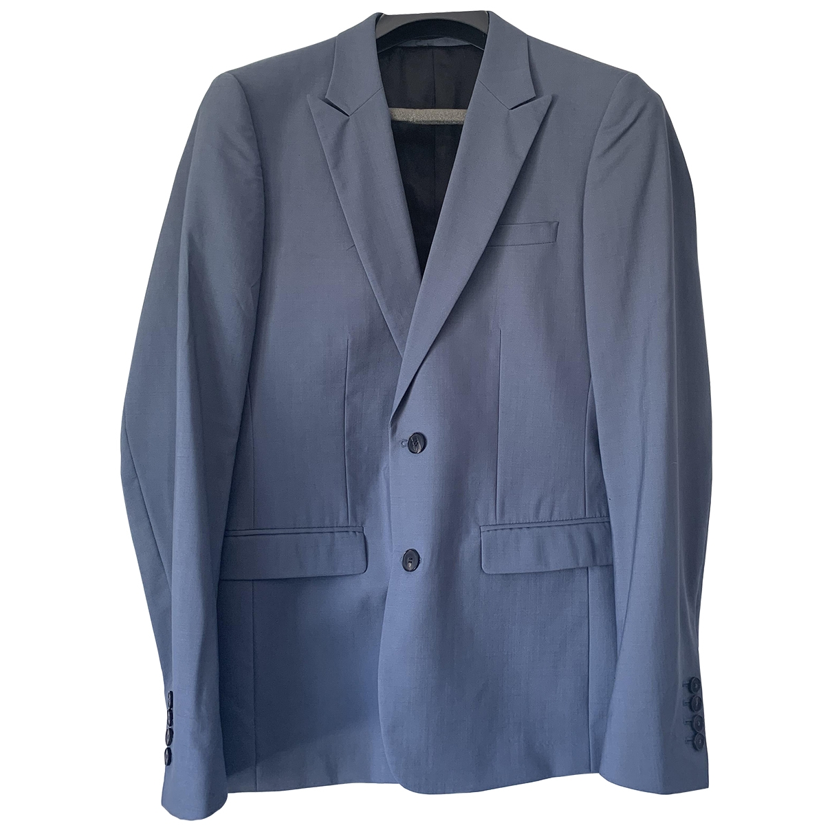 Sandro \N Blue Wool Suits for Men M International