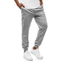 Pantalones deportivos de cintura con cordon con bolsillo oblicuo