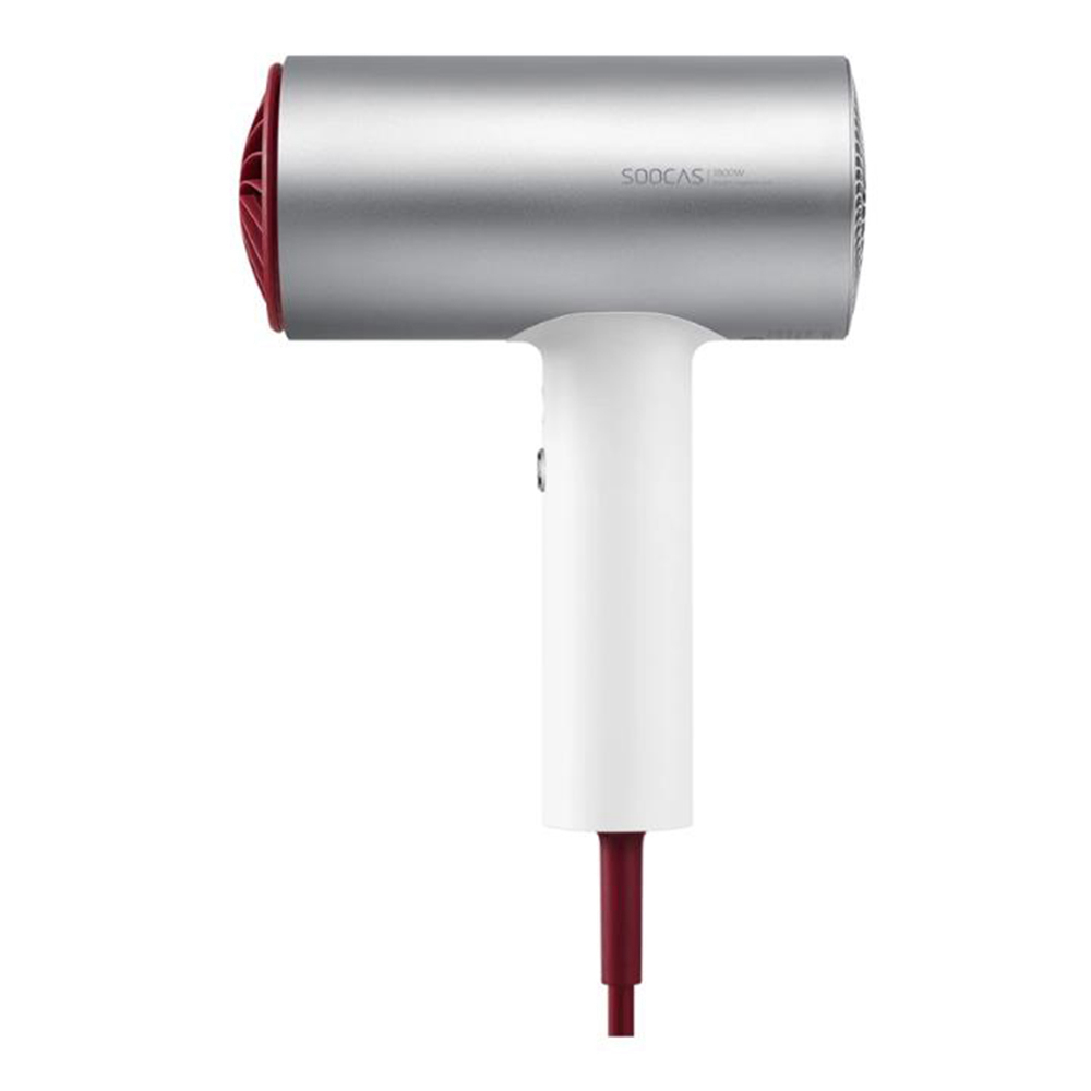 Xiaomi SOOCAS Anion Hair Dryer 1800W 3 Modes Aluminum Alloy Body - White