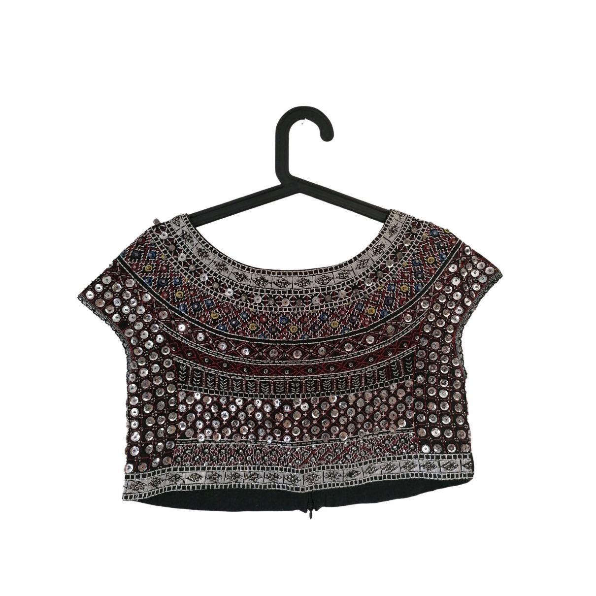 Zara \N Multicolour Glitter  top for Women M International
