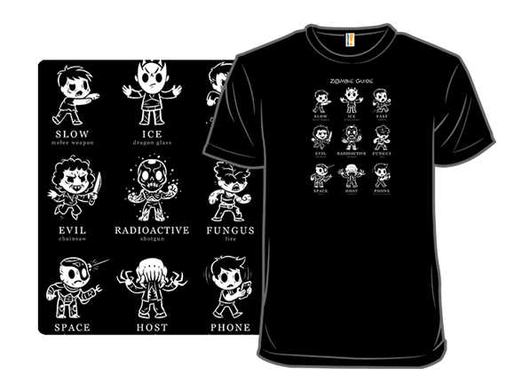 Zombie Guide T Shirt