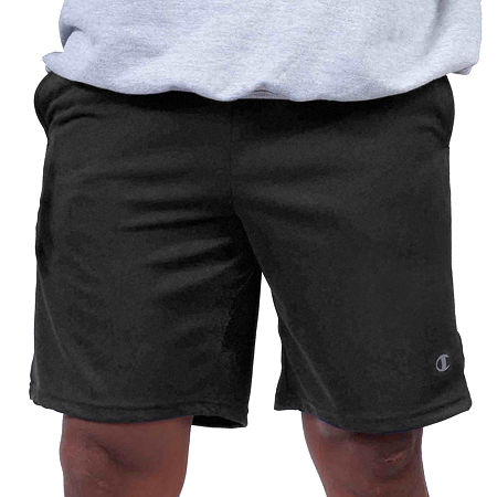 Champion Mens Elastic Waist Pull-On Short-Big and Tall, 4x-large , Gray