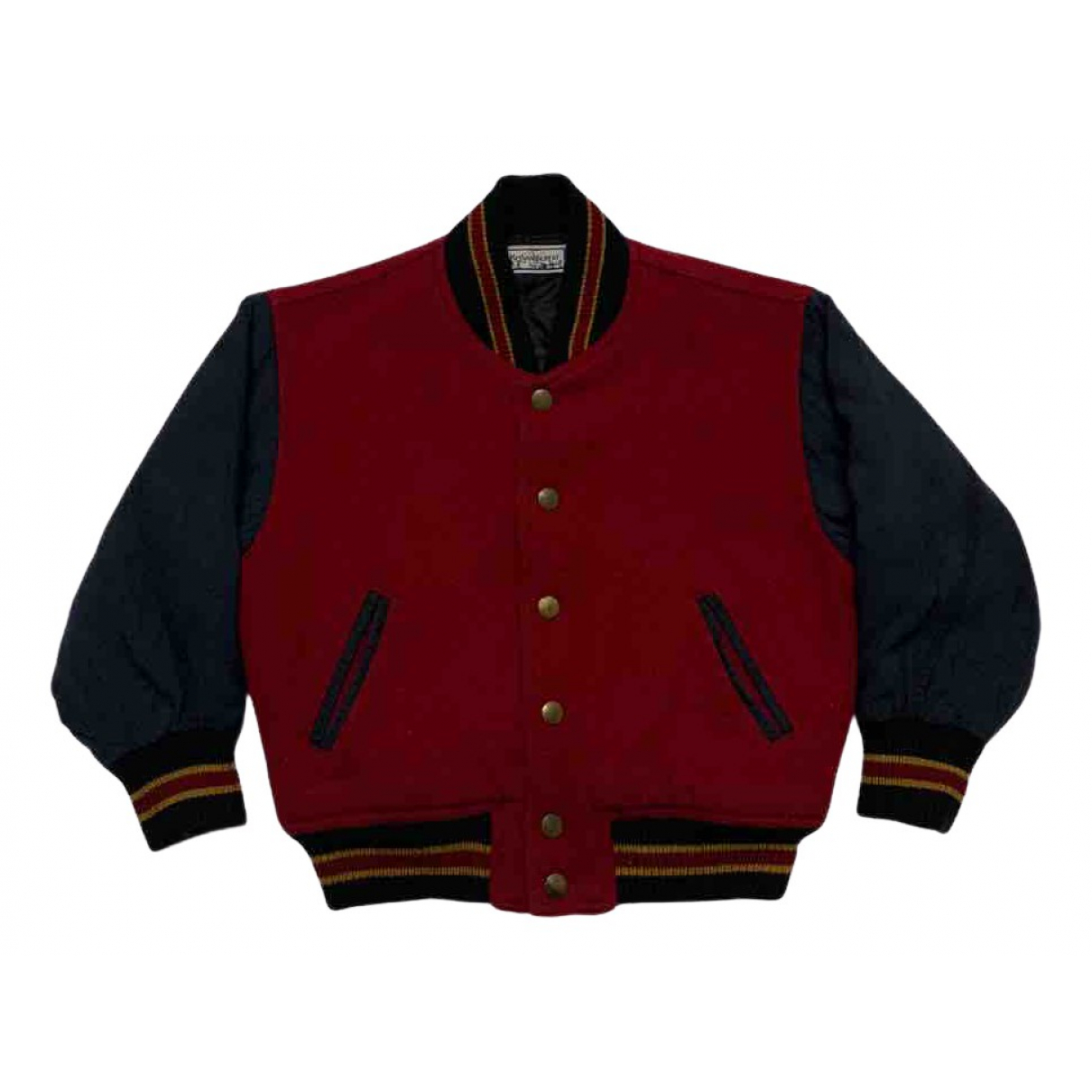 Yves Saint Laurent - Blousons.Manteaux   pour enfant en laine - rouge