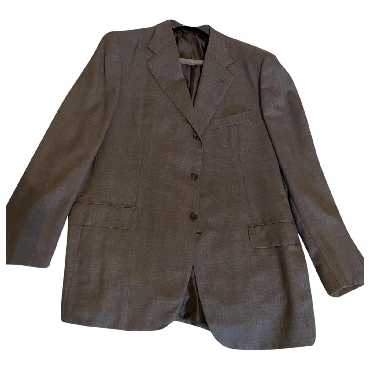 Brioni - Vestes.Blousons   pour homme en laine - gris