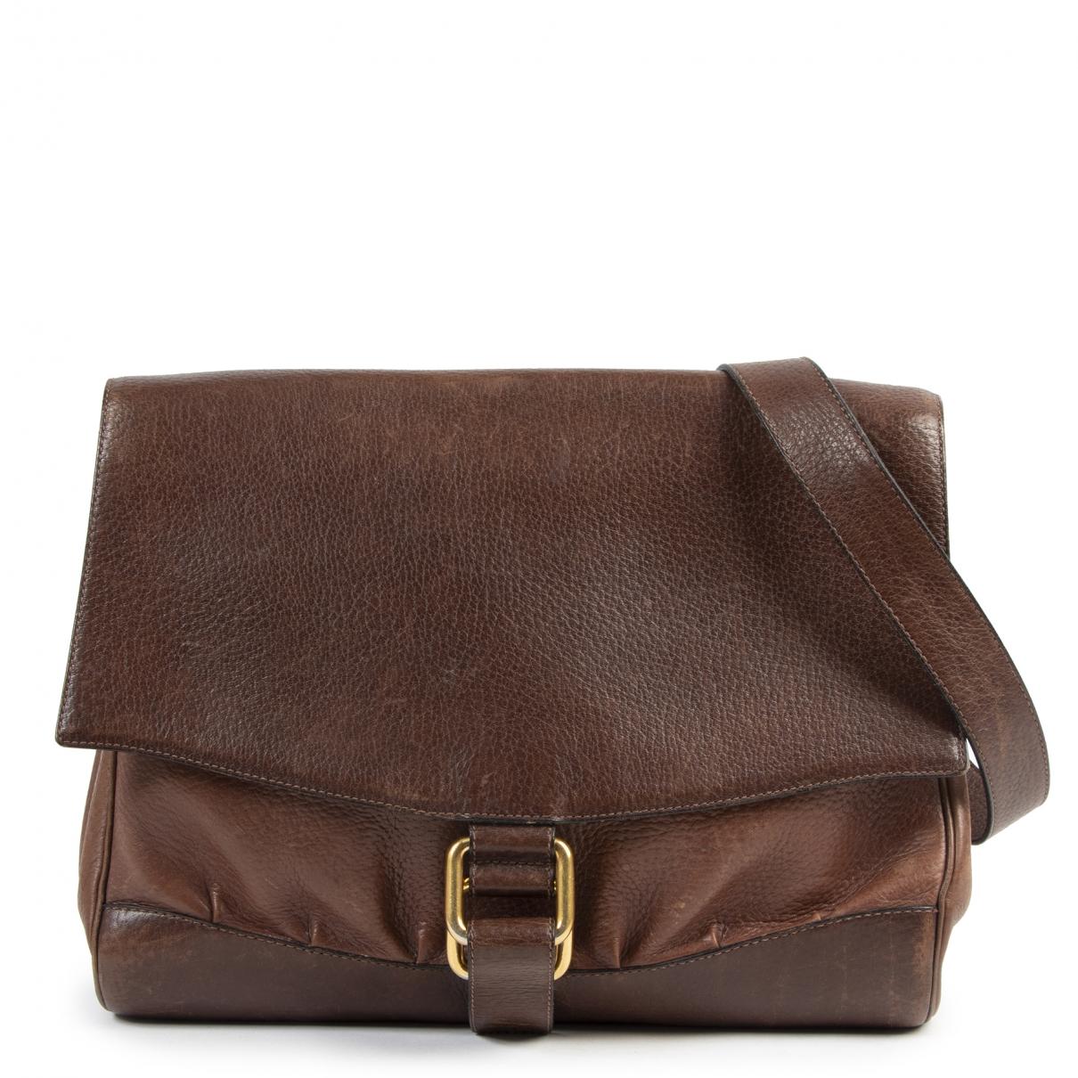 Delvaux \N Brown Leather handbag for Women \N
