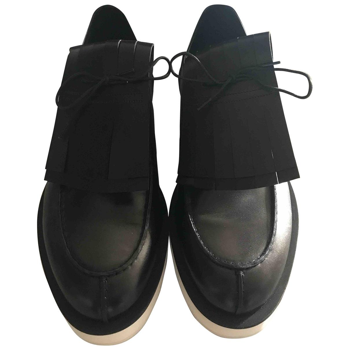 Pierre Hardy \N Black Leather Lace ups for Men 43 EU