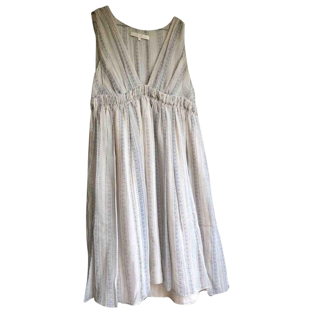 Vanessa Bruno - Robe   pour femme en soie - gris