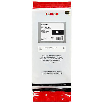 Canon PFI-320BK 2890C001 Original Black Toner Cartridge