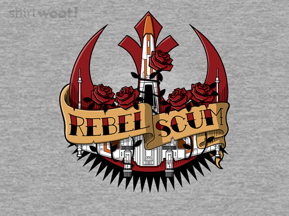 Rebel Scum Tattoo T Shirt