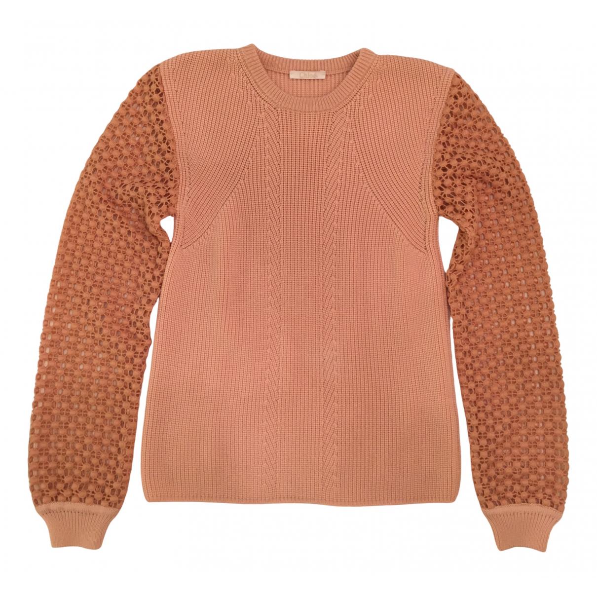 Chloé \N Pink Wool Knitwear for Women S International