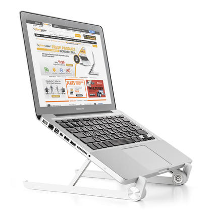 Adjustable and Portable Laptop Stand Foldable Notebook Holder - PrimeCables®