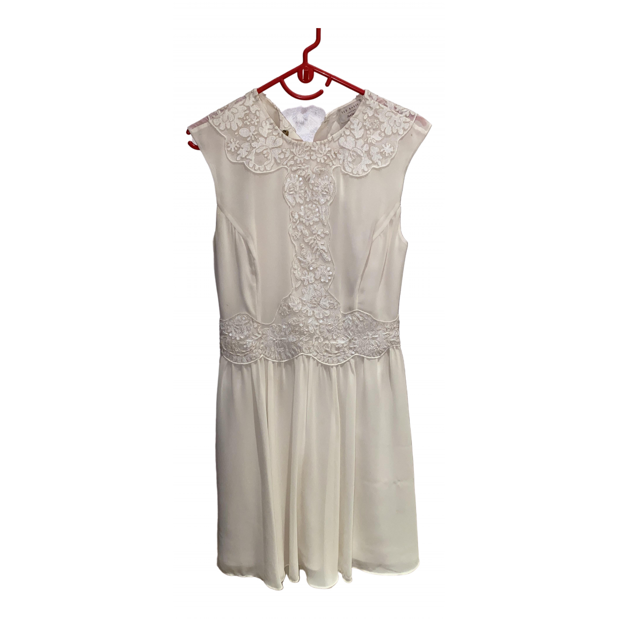 Ted Baker \N Ecru dress for Women 1 0-5