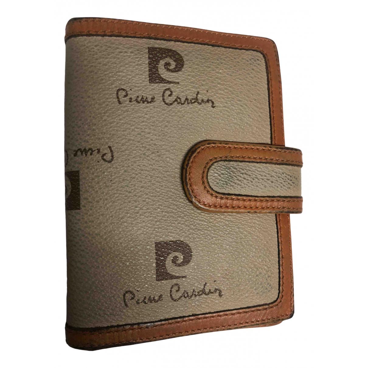 Pierre Cardin - Portefeuille   pour femme en cuir - beige