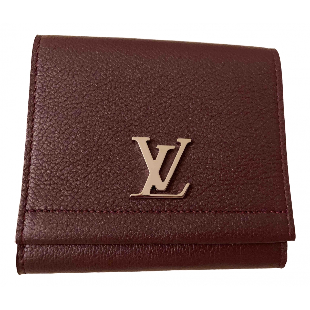 Cartera Lockme de Cuero Louis Vuitton