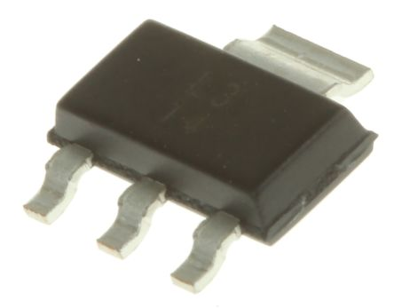 Texas Instruments , 1.25 → 37 V Linear Voltage Regulator, 1.5A, 1-Channel, Adjustable 3+Tab-Pin, SOT-223 LM317DCY (80)