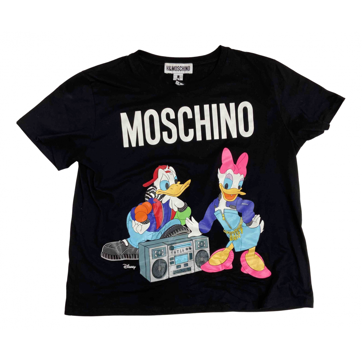 Moschino For H&m \N Black Cotton  top for Women L International