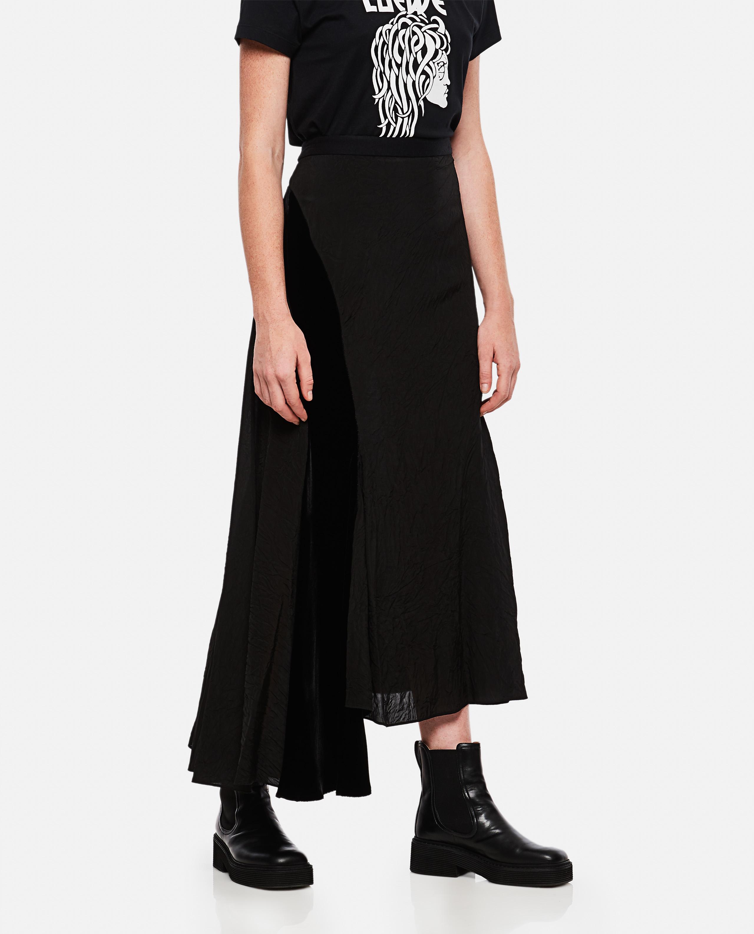 Long Asymmetrical Skirt