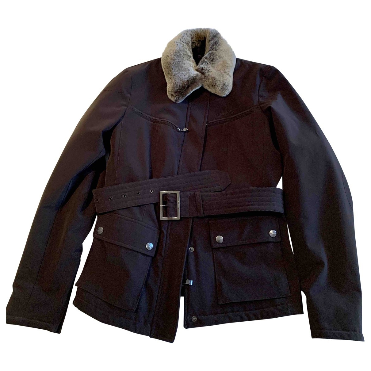 Non Signé / Unsigned \N Brown jacket for Women 42 IT