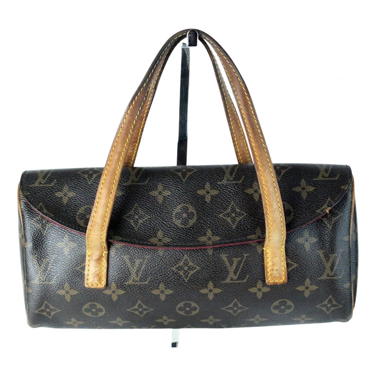 Bolso  Sonatine de Lona Louis Vuitton