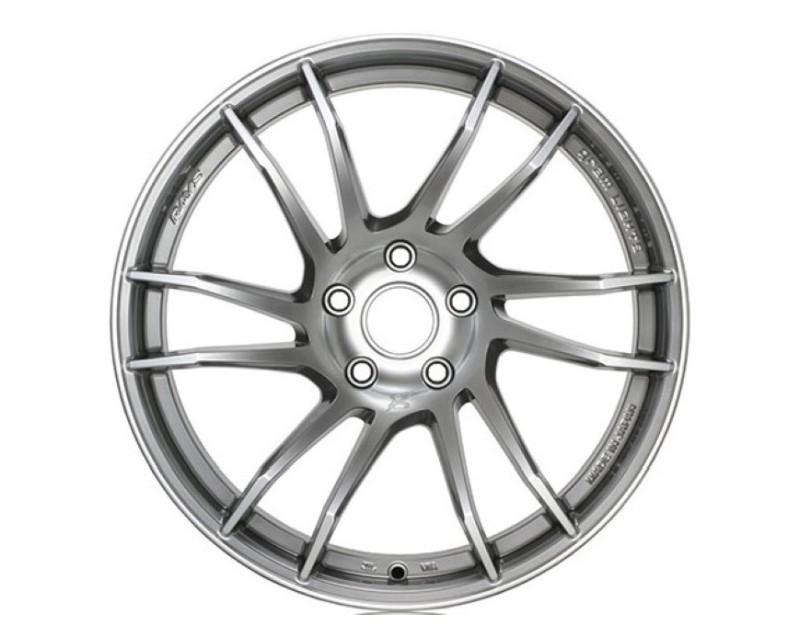 GramLights WGXX38DLNJ 57XTC Wheel 18x9.5 5x100 38mm Shining Silver/Machining