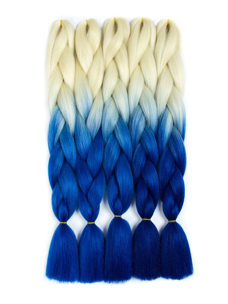 Ericdress Ombre Synthetic Kanekalon Braiding Hair Crochet Braids False Hair Extensions
