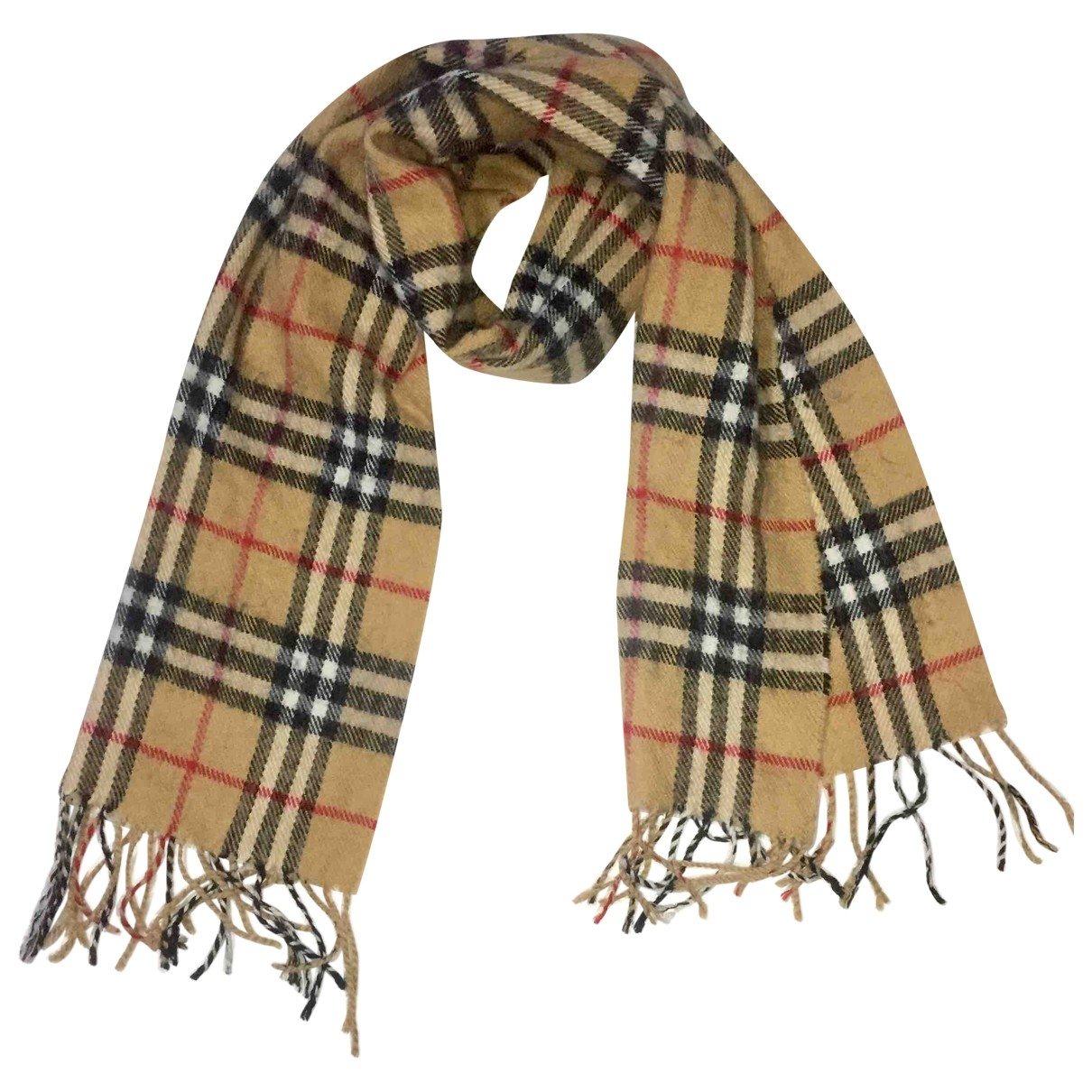 Burberry \N Multicolour Wool scarf & pocket squares for Men \N