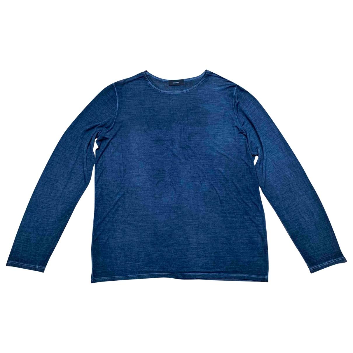 Joseph \N Blue Silk Knitwear & Sweatshirts for Men XL International
