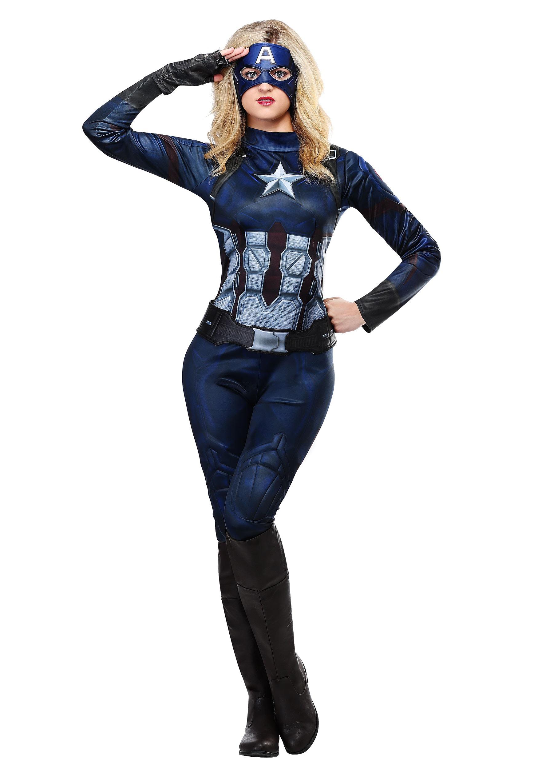Captain America Costume for Women