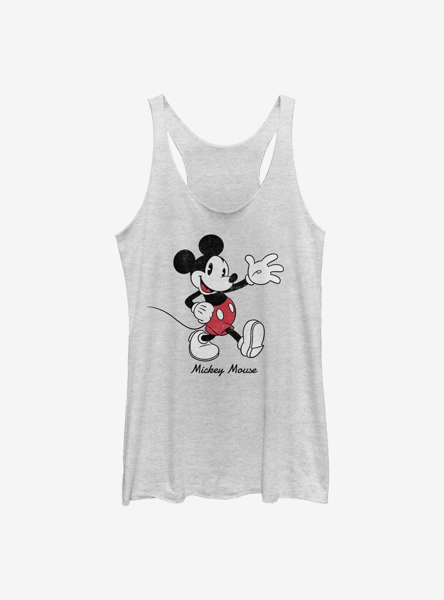 Disney Mickey Mouse Vintage Sketch Womens Tank Top